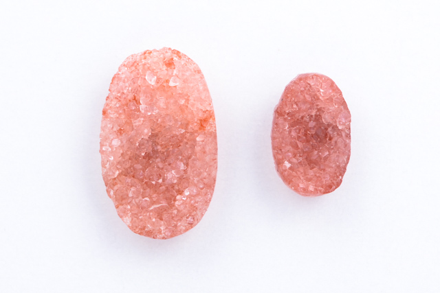 Apophyllite Red Cluster, CABOCHONS