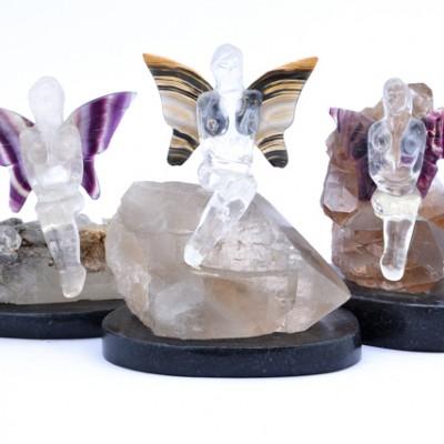 Carved Goddess & Fairies