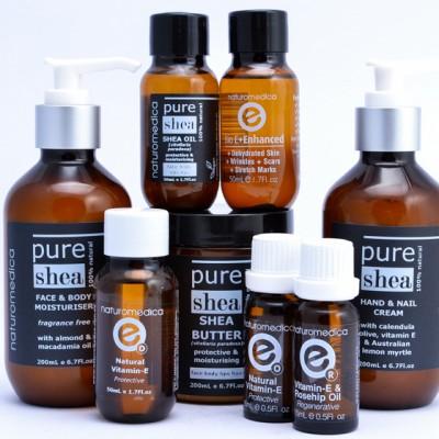 Naturomedica Vitamin E Oil Range