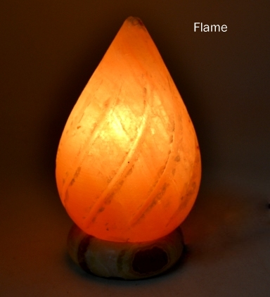 Flame Salt Lamp