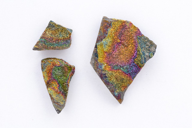 MINERAL SPECIMENS, Spectropyrite Plates Slices