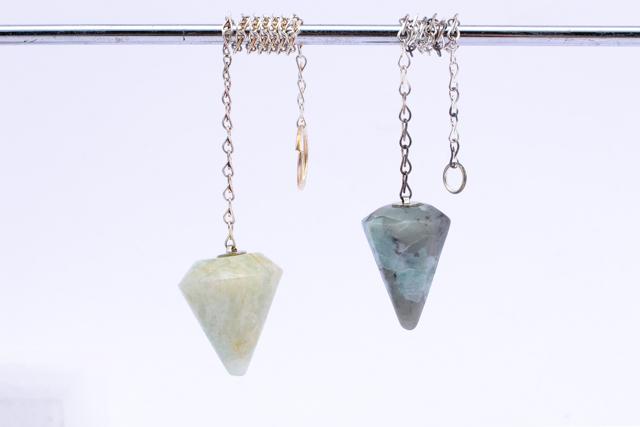 PEN aqua cone, PEN emro (rounded pendulums)