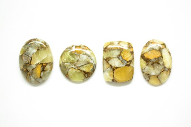 CABOCHONS-Mohave-Yellow-Calcite